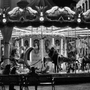 Passeio noturno à Piazza della Signoria e ao carrossel da Piazza della Repubblica
