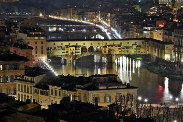 Ponte Vecchio vista da Piazzale Michelangelo