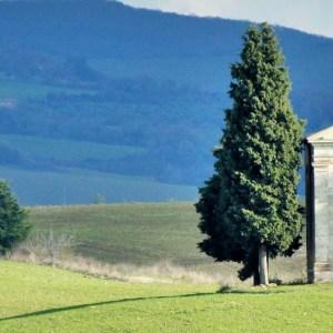 De carro pela Toscana: a busca pela famosa Cappella della Madonna di Vitaleta
