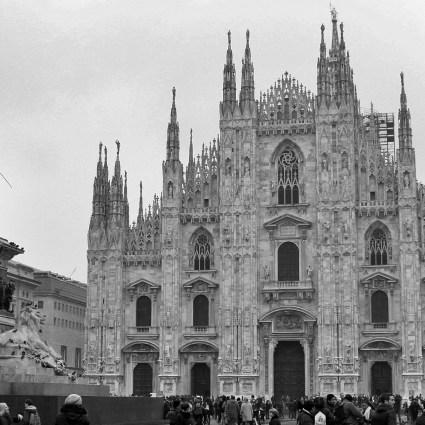 Milão do alto: o terraço do Duomo