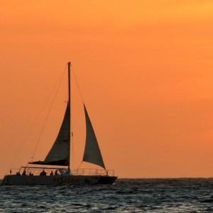 Dicas de Aruba: Pôr do sol em Malmok beach