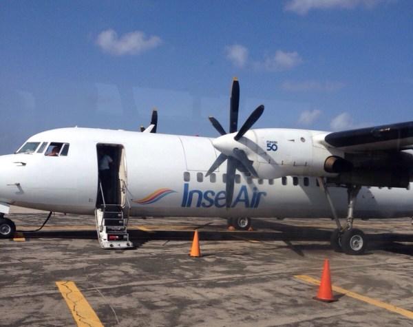 Inserl air, Aruba