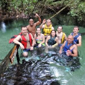 Flutuação no Rio Triste e Aquário Encantado: natureza incrível e intocada em Nobres, MT