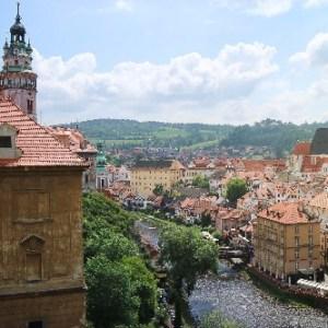 Český Krumlov, uma das cidades medievais mais lindas do mundo