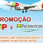 Promoção TAP e PanAmericano Viagens: Compre a passagem e ganhe 5 noites de hotel em Paris, Lisboa, Roma ou Madri