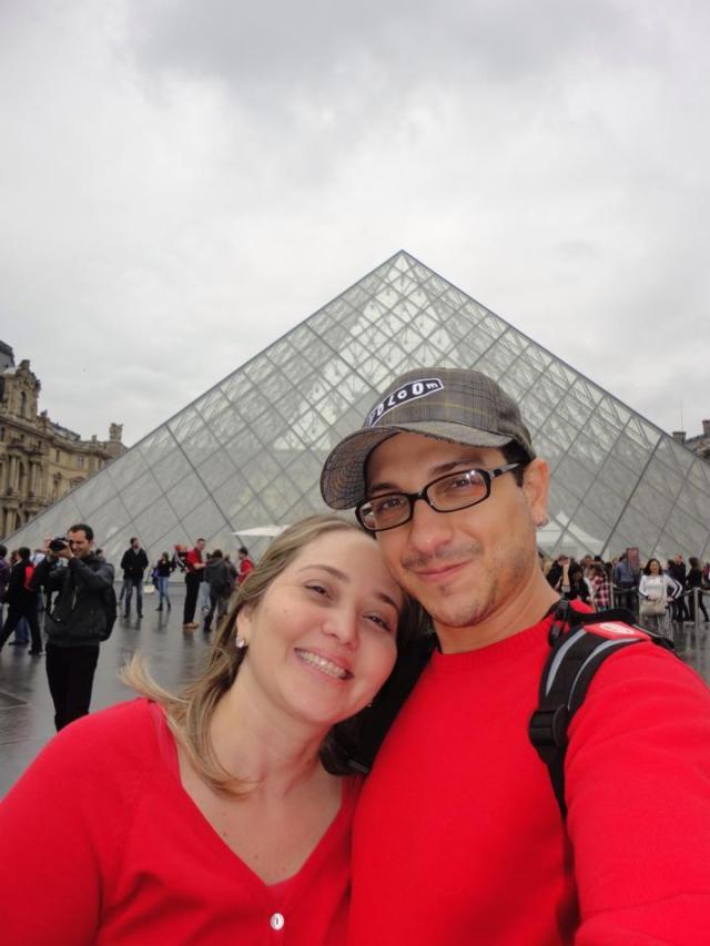 A primeira viagem à Europa Louvre