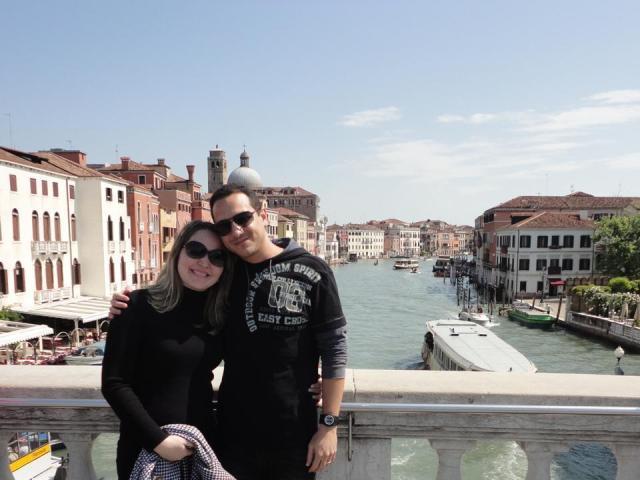 A primeira viagem à Europa Veneza