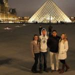 Inverno na Europa: a viagem de 20 dias de Lau e turma por Londres, Paris, Berlim, Veneza, Roma e Barcelona