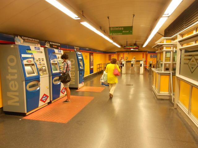 Madri - metro de madrid
