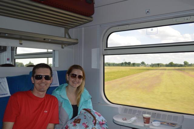 Polônia_Trem entre Wroclaw w Cracóvia_Viajando bem e barato pela Europa
