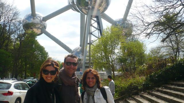 Dicas de Bruxelas_Atomium_Viajando bem e barato