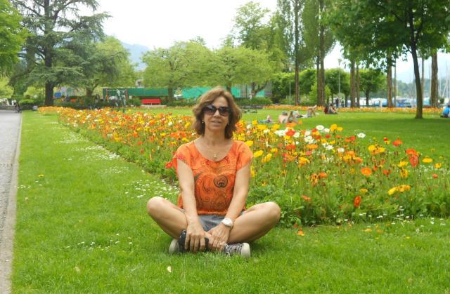 França, Itália e Suíça_flores_Viajando bem e barato
