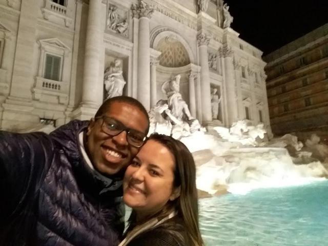 primeira viagem à Europa_Fontana di Trevi_Viajando bem e barato