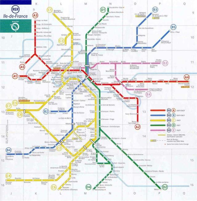 Paris_RER_Viajando bem e barato