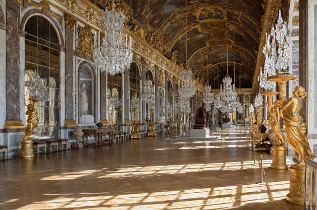 Paris_Versailles Hall of Mirrors_Viajando bem e barato