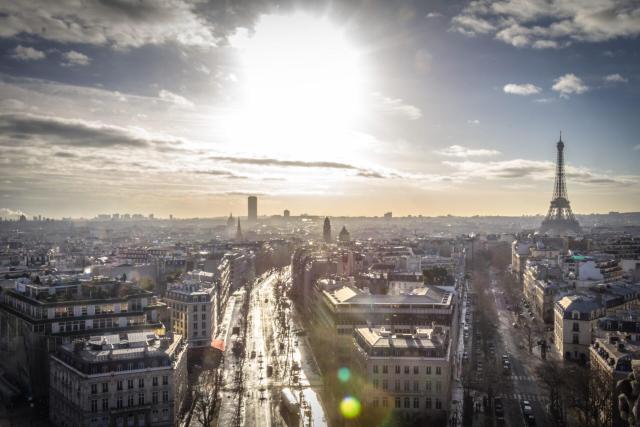 Paris_landview_Viajando bem e barato