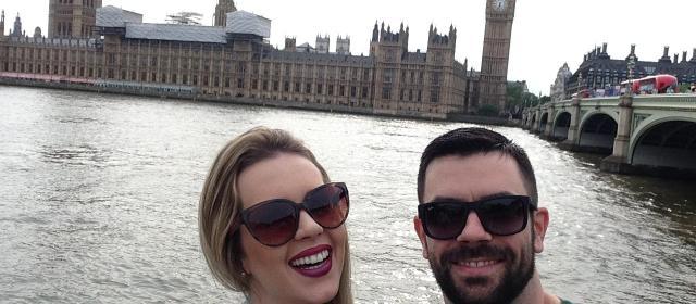 Conhecendo Roma, Londres e Paris: o roteiro de viagem do casal Jaqueline e Gustavo