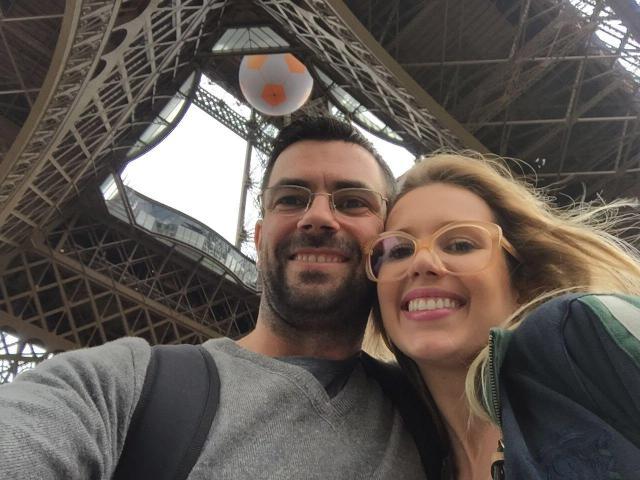 Conhecendo Roma, Londres e Paris_selfie_Viajando bem e barato