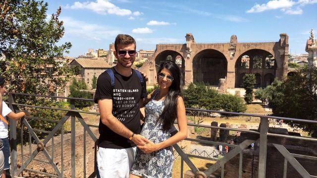 Lua de mel na Europa_ruínas_Viajando bem e barato