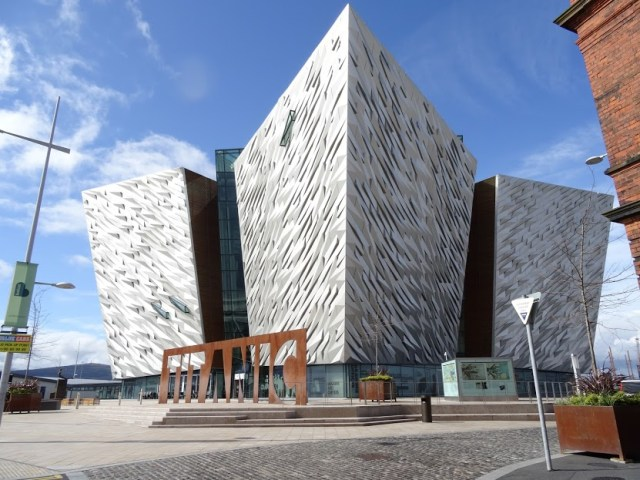 Viagem para França, Inglaterra e Irlanda_Titanic Belfast (Belfast)_Viajando bem e barato