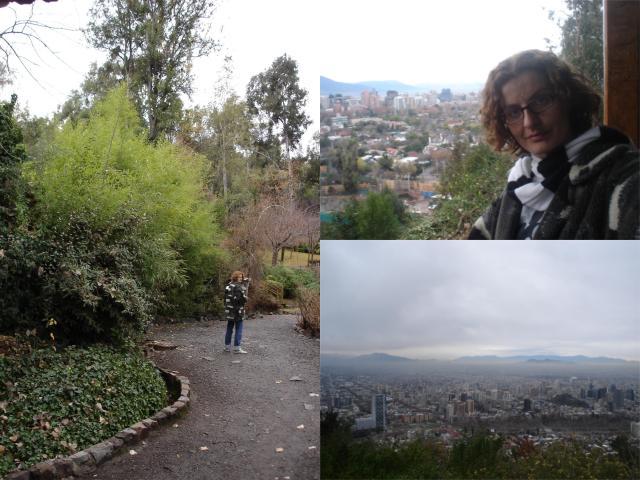 Roteiro de 4 dias de viagem para Santiago_funicular_Viajando bem e barato
