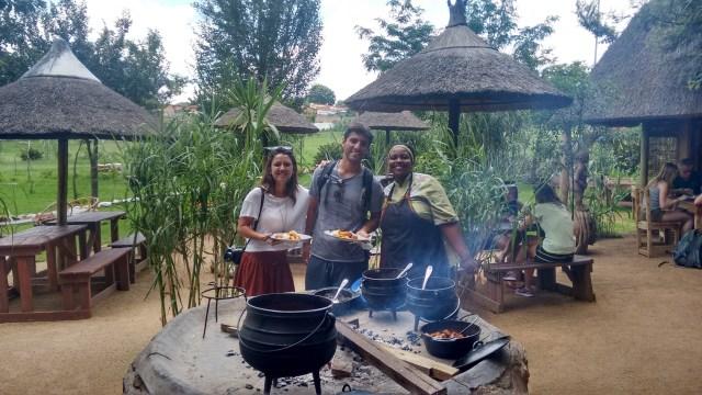 Roteiro para África do Sul e Moçambique_almoço_Viajando bem e barato