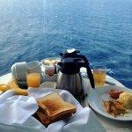 A gastronomia a bordo do cruzeiro Allure of the Seas.