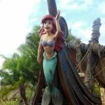 Encontro com a Pequena Sereia na New Fantasyland
