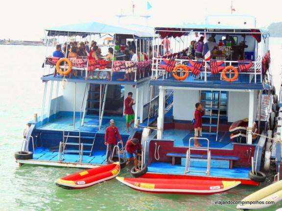 Phuket com crianças