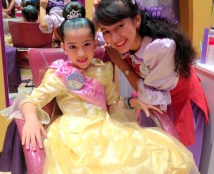 Bibbidi Bobbidi Boutique: para se transformar em Princesa na Disney!