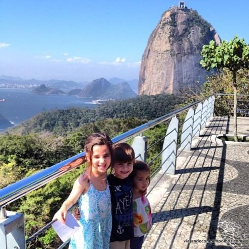 Rio de Janeiro com crianças