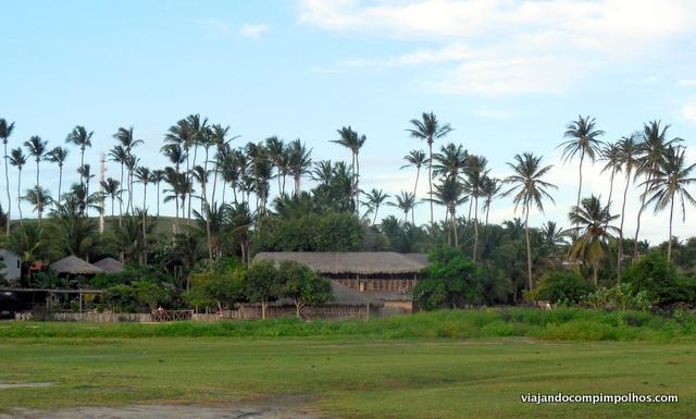 Vila Kalango vista de fora