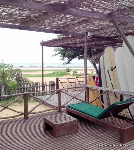 Vila Kalango vista paraia