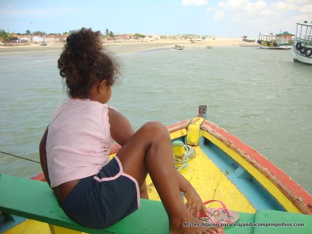 Let no barco Galinhos