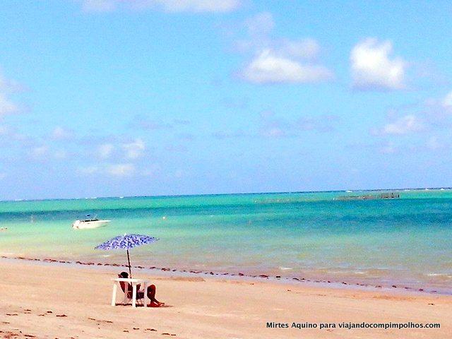 praia de Peroba em Maragogi
