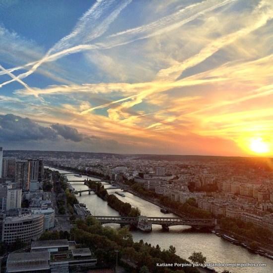 Visual da Torre Eiffel