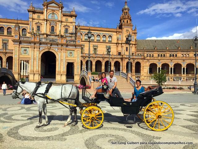 Plaza-de-Espana-Sevilha