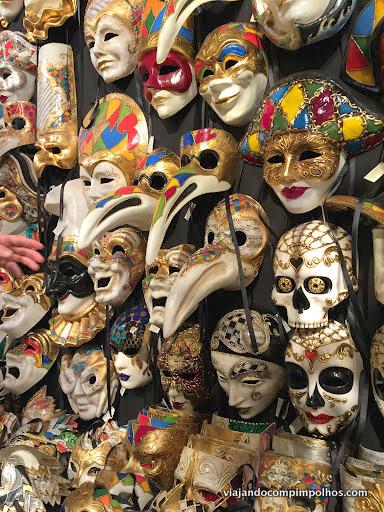 Máscaras-Carnaval-Veneza