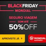 Black Friday: até 50% de desconto no Seguro de Viagem Mondial