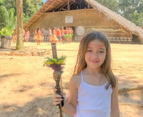 Manaus com crianças: uma visita aos índios Dessana
