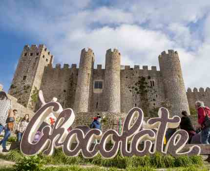 Festival do Chocolate em Óbidos, Portugal