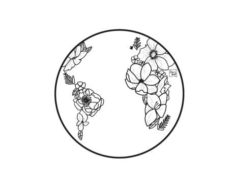 Sonhos de uma criança viajante: Flores para o Mundo
