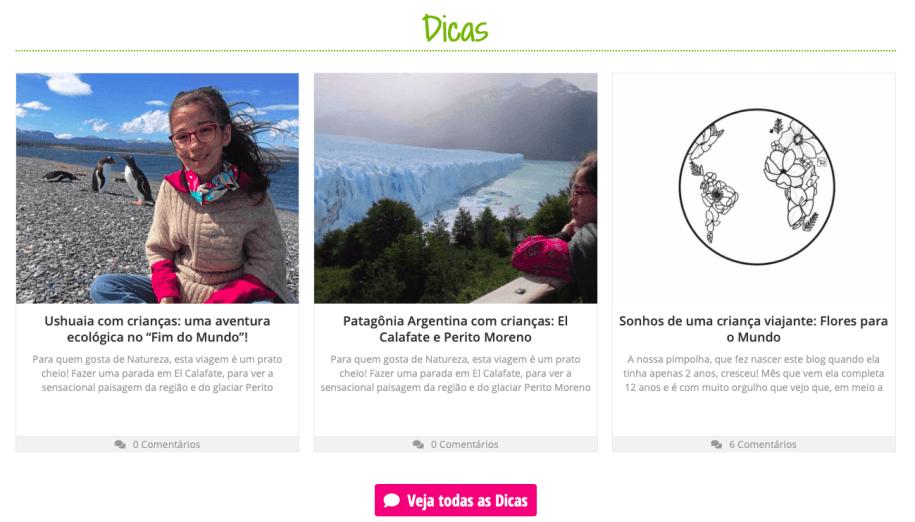 novo blog Viajando com Pimpolhos