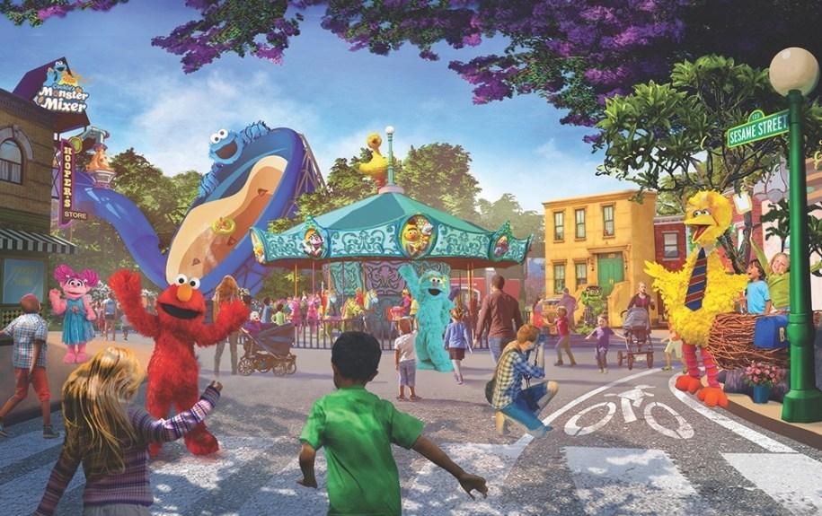 Parque Sesame Place San Diego