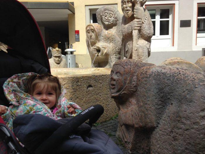 Bad Säckingen: cruzando de Suiza a Alemania
