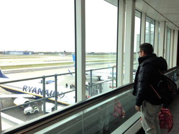 Llegada al aeropuerto Gatwick