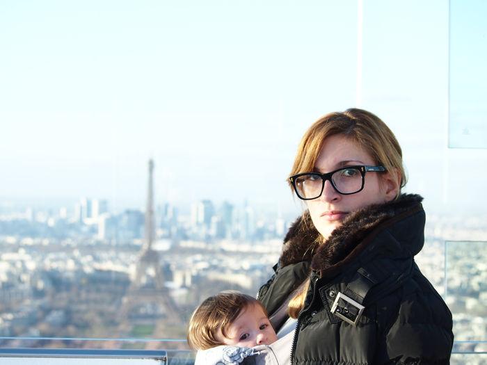 PARIS con un bebé