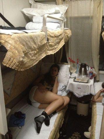 Tren cama en China