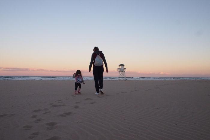 La playa de Gandía en familia