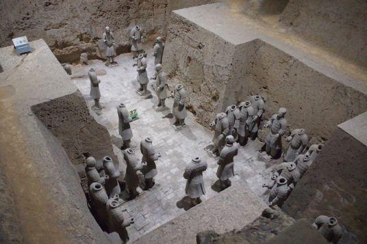 Guerreros de Xi'an